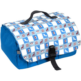Grüezi-Bag 406803 toilet bag L blue/white